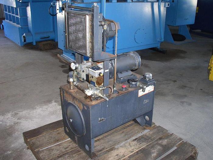 Used 3HP Continental Hydraulic Unit; 9.55 GPM; 3500 psi