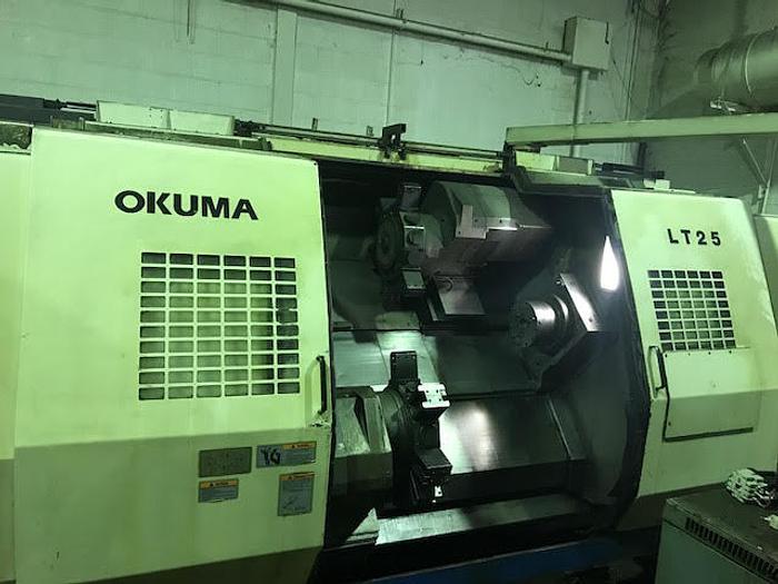 OKUMA LT25 CNC Lathe Year 2000