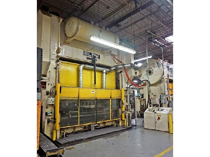 """Used 800 ton Blow 144""""x54"""" Used Stamping Press"""