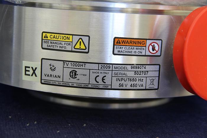 Used Varian TV1000HT Turbo pump