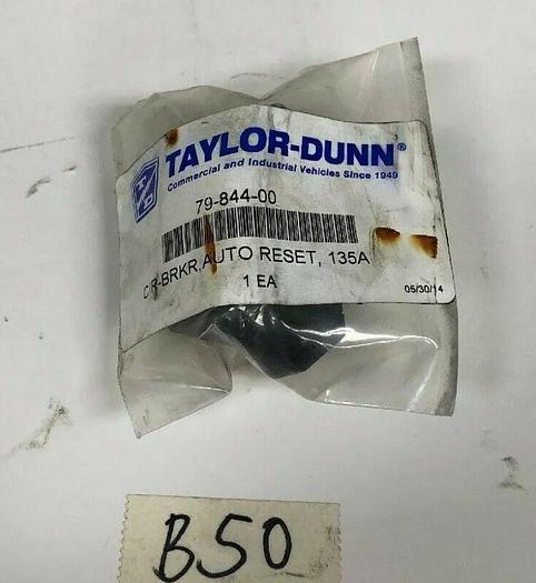 New Taylor-Dunn Circuit Breaker Auto Reset 135 Amp 79-844-00 *Fast Shipping*