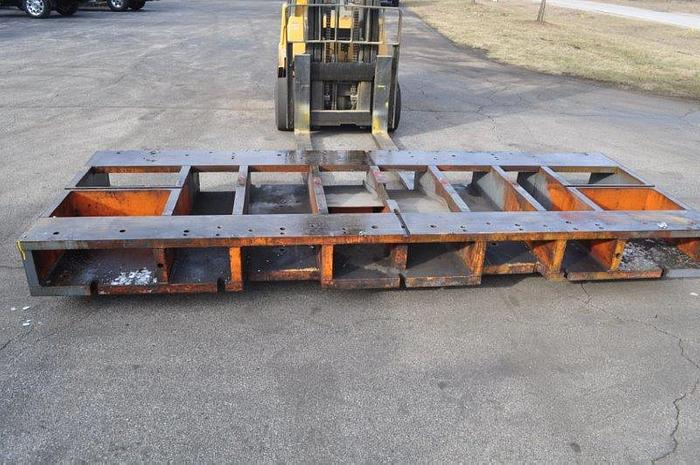 """Used 144"""" x 54"""" RISER PLATE"""