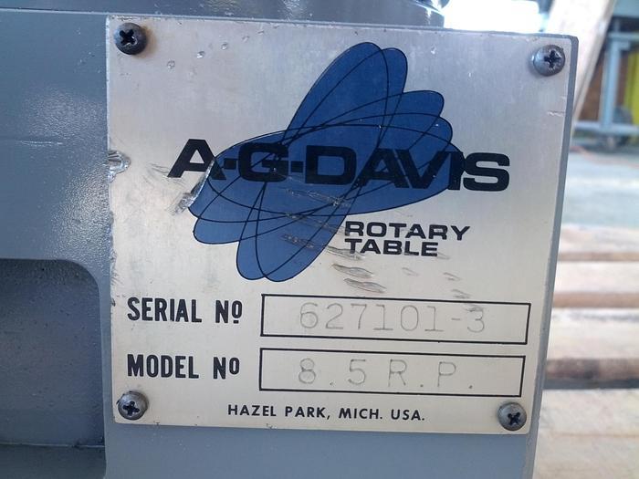 AG Davis Rotary Table 8.5R.P