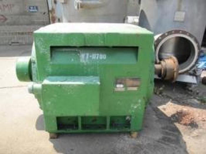 Used 700 HP GENERAL ELECTRIC 2300V 514 RPM SYNCHRONOUS MOTOR