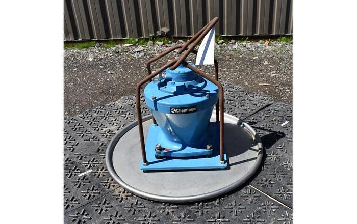 Used USED CHEMINEER TOP ENTRY AIR MIXER, VARIABLE SPEED