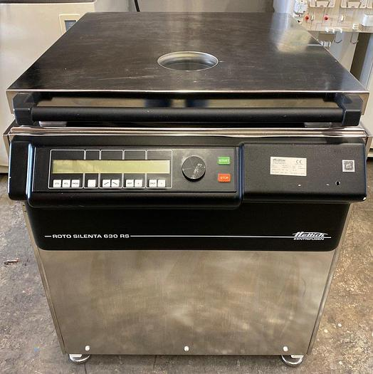 Used Hettich Zentrifugen Centrifuge, Water Cooled, Silenta 630RS With Rotor & Buckets