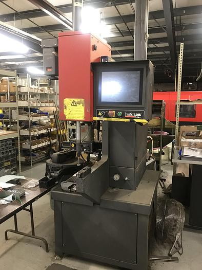 Used 1999 8 Ton Haeger 824-WT 'Window-Touch' Hardware Insertion Machine