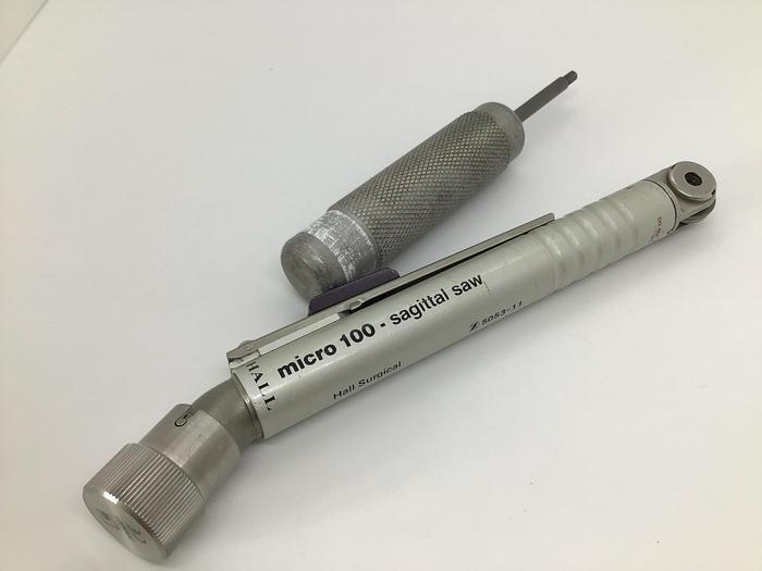 Used Hall micro 100 Sagittal  Saw 5053-11