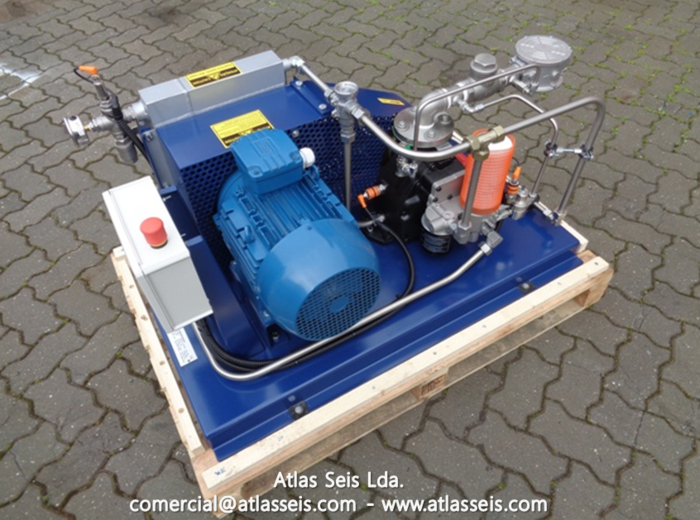 Atlas Seis Gas Compressor MCB90
