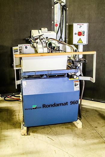 Used 2009 Weinig Rondamat 960 Grinder