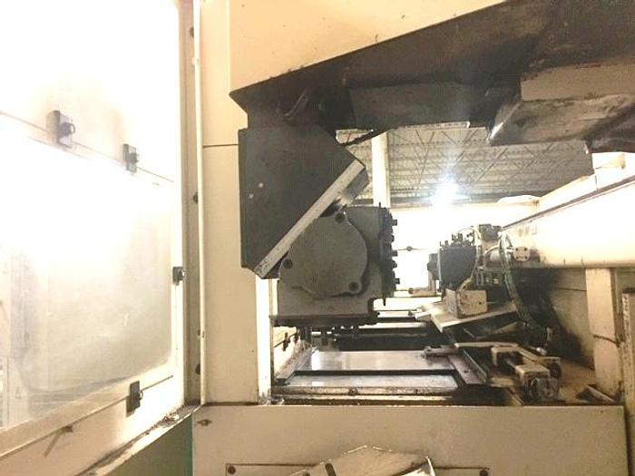 2005 MURATEC MURATA MW120G TWIN SPINDLE WITH SINGLE GANTRY CNC LATHE