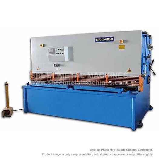 BIRMINGHAM Hydraulic Swing Beam Type Shear H-0845-C