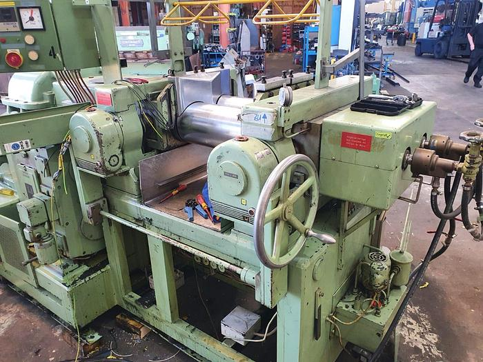 Used Schwabenthan  450mm wide 2 Roll Mill