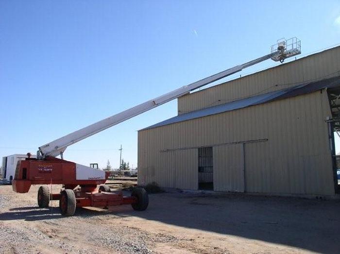 80 foot SNORKEL Model TB-A80RD Aerial Boom Lift; Work Platform