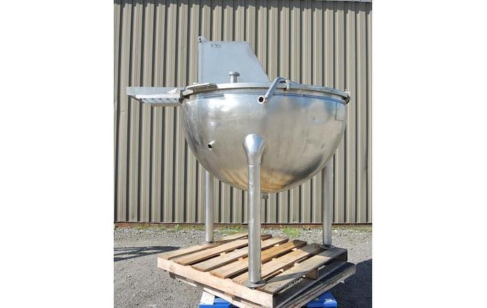 Used USED 200 GALLON JACKETED KETTLE, STAINLESS STEEL