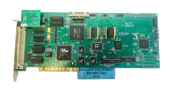 Used Galil Motion Control DMC-1840 Rev C,4-Axis Daughter Board Adept DMC Buffer (6628