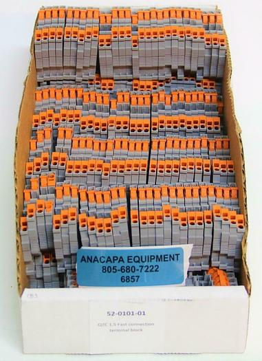 Phoenix Contact Terminal Block QTC 1.5 800V 1.5mm² PA66-FR Lot of 250 (6857)Z