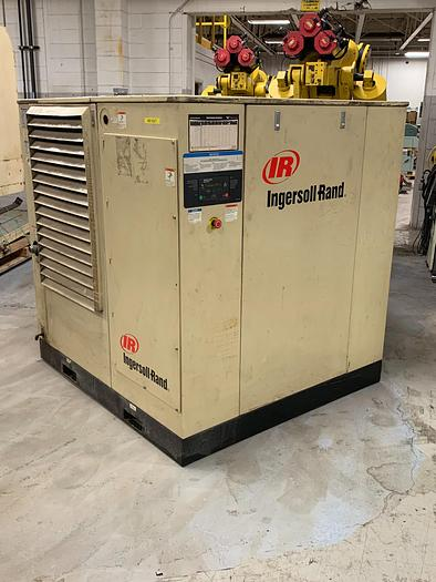 INGERSOLL RAND SSR-EP60 SCREW TYPE AIR COMPRESSOR 60 HP, 246 CFM, 125 PSIG