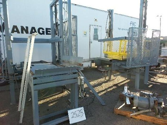 Used Packers Manufactory Automatic Bin Dump System