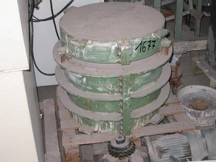Used FRAME PLASTER MOLD HOLDER FOR BIG ARTICLES RAM PRESSING