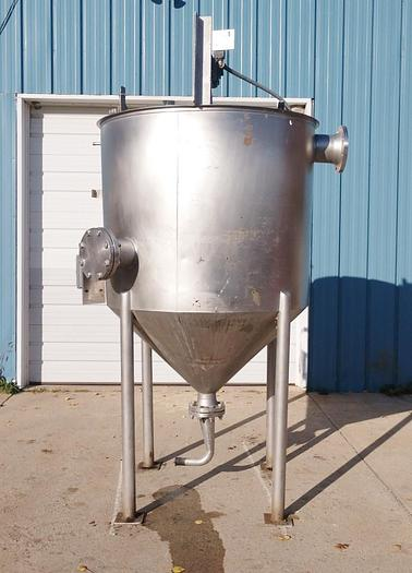 Used Metal Craft Stainless Steel 400 Gallon Tank