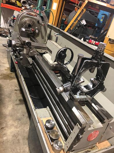 """Used 1987 Clausing Cochester 17"""" X 80"""" Engine Lathe"""