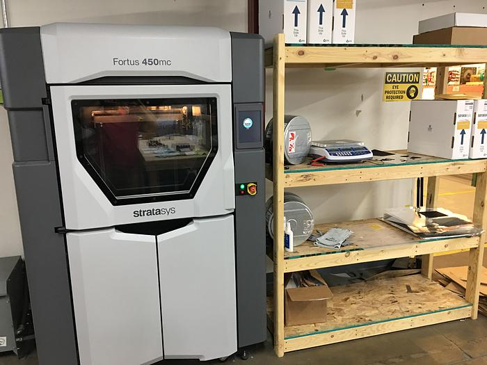 2017 Fortus 3D Production System 450MC