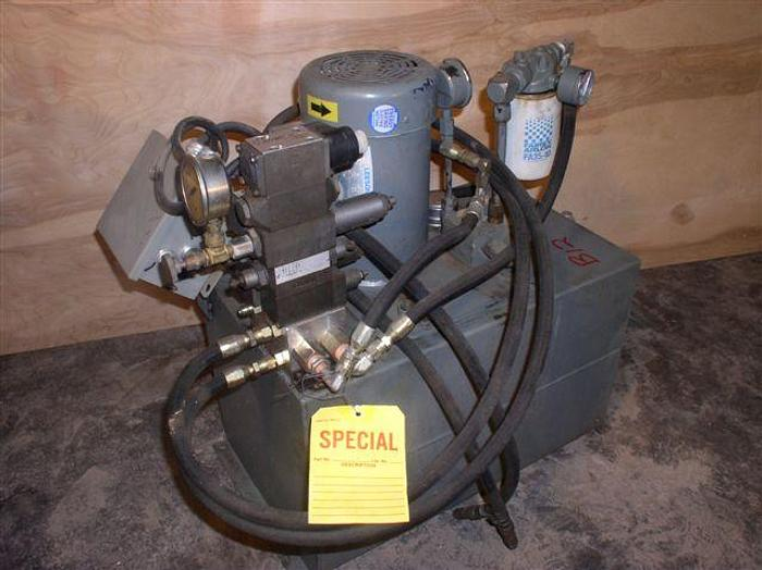 Used 2 HP Hydraulic System