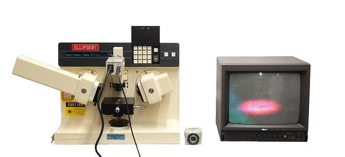 Used Rudolph AutoEL III MS1 Automatic Ellipsometer + Panasonic Cameras, Parts (9231)R