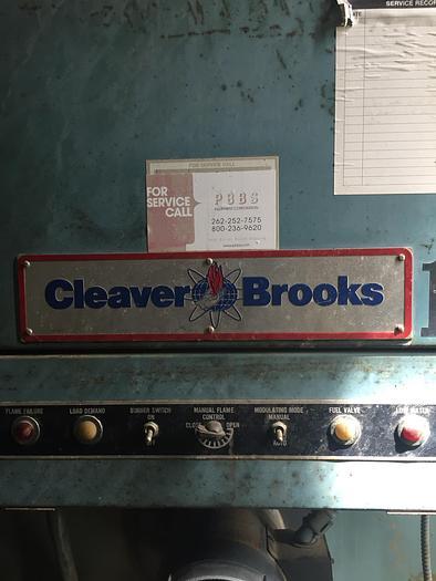 1992 Cleaver Brooks 100 HP Low Pressure 15 PSI Steam Boiler  CB-700-100-15