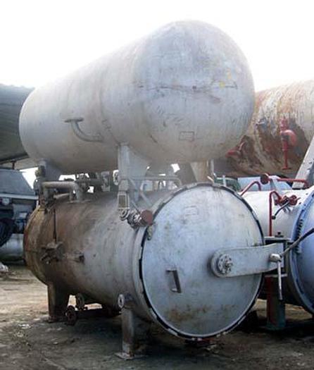 Używane Autoklaw poziomy, zalewowy, 2-zbiornikowy – typ WAA 21a