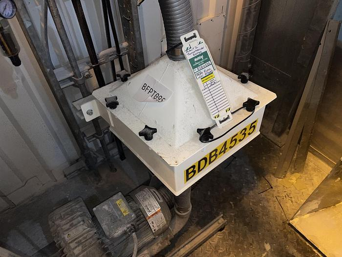 Used JENCO L61 Side Channel Vacuum Pump with HEPA filter