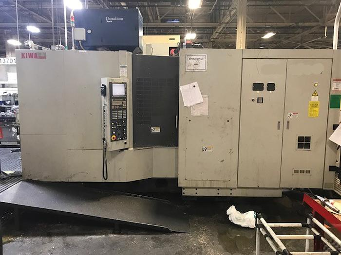 Used KIWA KH-45 4 Axis Horizontal Machining Center