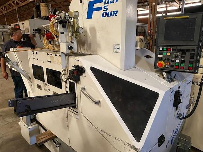 Used 2012 FUJI  FS4-31-1 GANG STYLE CNC LATHE