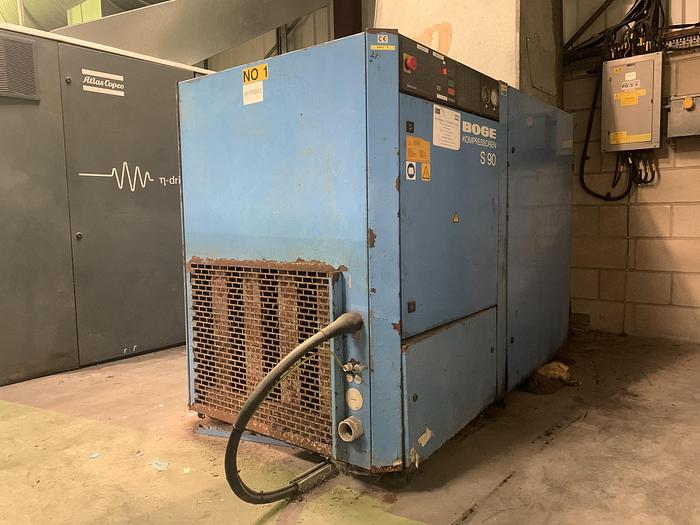 Used 1998 BOGE S90 Fixed Speed Air Compressor