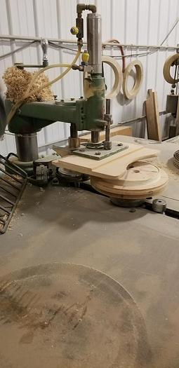Used A&B 503 Automatic Shaper