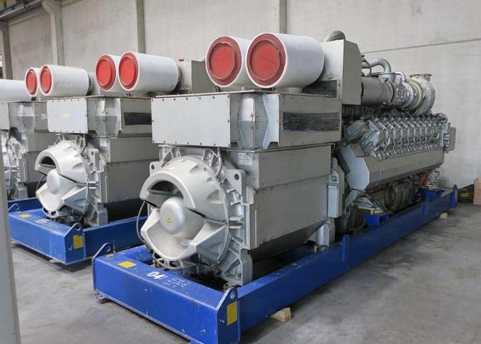 Used 2010 MTU 20V4000 - 1946 KWe
