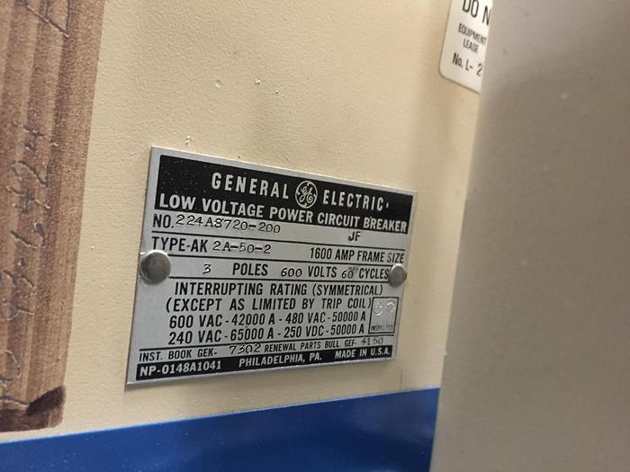 General Electric Circuit Breaker