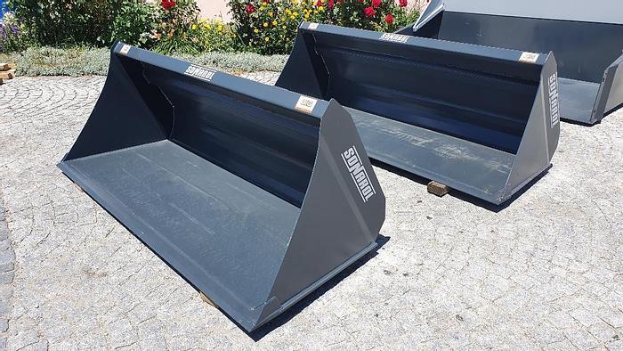 Schwergutschaufel 180 cm  passend zu Merlo Aufnahme