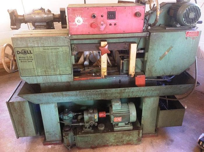 Used DoALL Model C 5A Automatic Horizontal Bandsaw