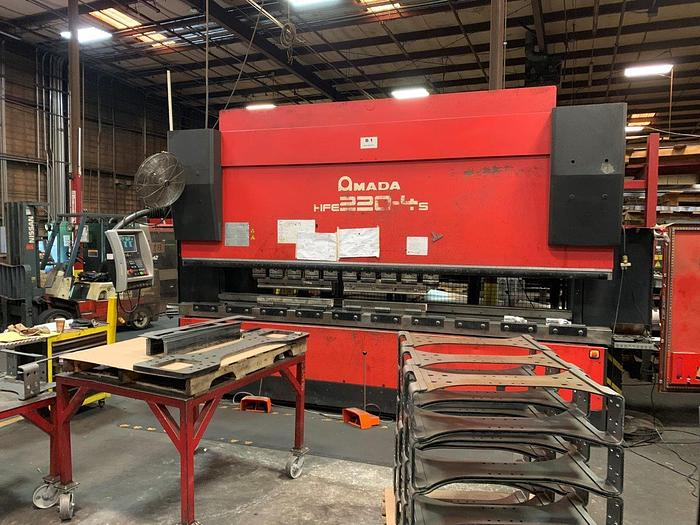2006 242 Ton Amada HFE-2204 CNC Press Brake