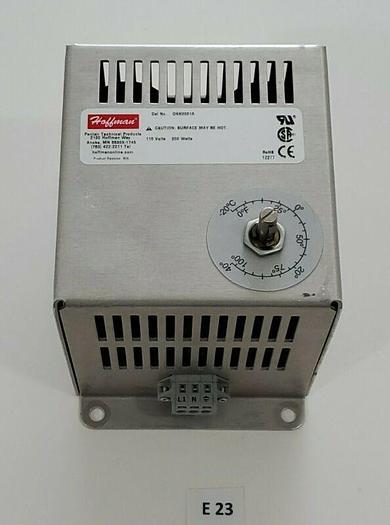 Used *PREOWNED* Hoffman DAH2001A 200 Watt 115 Volt Cabinet Heater + Warranty!