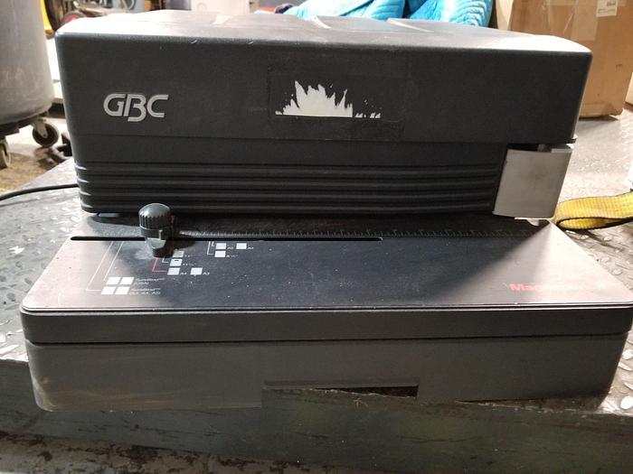 Used GBC Magna Punch