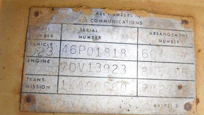 1981 CATERPILLAR 623B