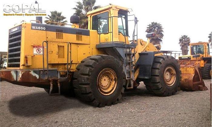 2008 KOMATSU WA600-3