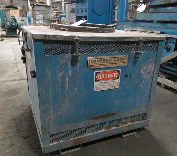 2004 DYNARAD ELECTRIC RESISTANCE FURNACE 900#