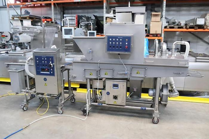 Used Hiwell battering and breading line