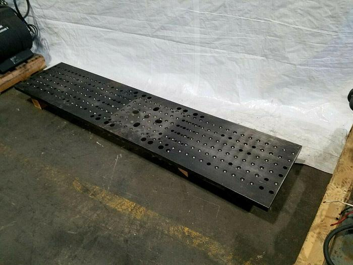 """Used Bolster Steel Plate Table 79"""" x 1-1/8"""" x 17-1/4"""" for stamping machines"""