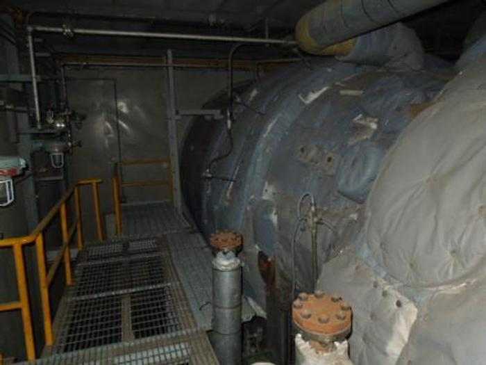 Used 100 MW 1995 Used Westinghouse W501D5 Natural Gas Generator