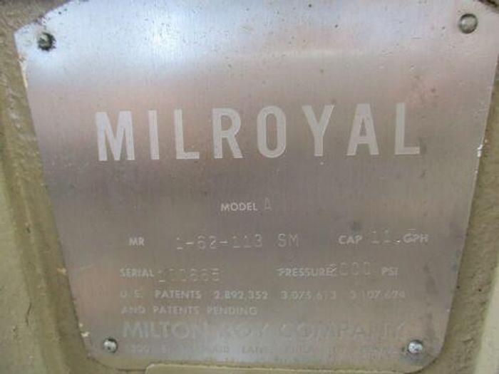 Milton Roy A